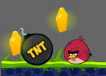 Angry Bird Exploser les Zombies