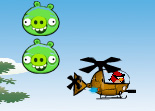 Angry Birds Space H�licopt�re