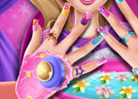 Super Barbie Ongles Puissants
