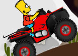 Bart Simpson Conduit un Quad