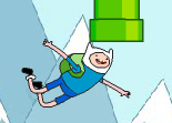 Flappy Bird Finn et Jake