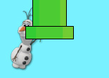 Flappy Reine des Neiges Olaf
