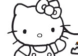 Hello Kitty � Colorier