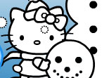 Hello Kitty de Coloriage