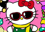 Hello Kitty de Habillage