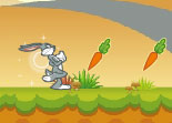 Bugs Bunny Chasse les Carottes