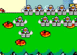 Mario Combat Space Invaders