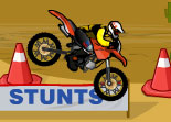 Moto Cross Acrobatique