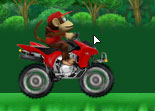 Quad de la Jungle Diddy Kong