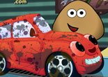 Pou au Car Wash