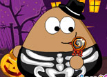 Pou Habillage Halloween