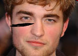 Défigurer Robert Pattinson