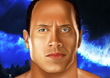 Catcheur Dwayne Johnson The Rock Maquillage